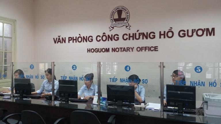Văn phòng công chứng Hồ Gươm bổ sung công chứng viên thứ năm.