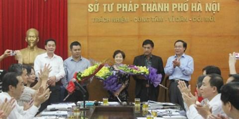 Sở tư pháp thành phố Hà Nội